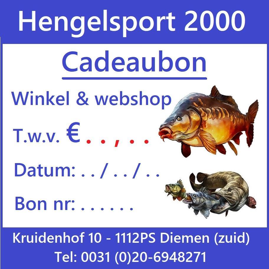 Hengelsport Cadeaubon