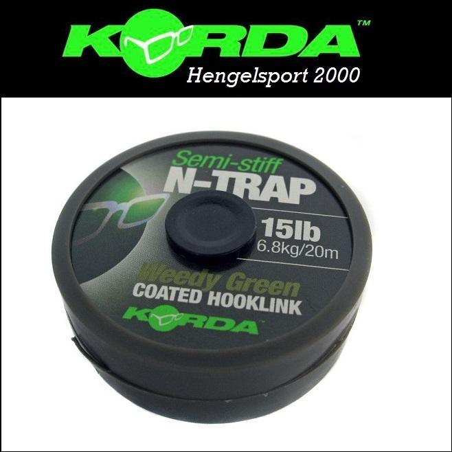 Korda N-Trap Semi Stiff Green