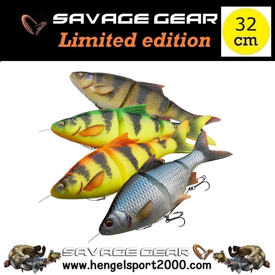 Savage Gear 4D Line Thru Roach 32 cm