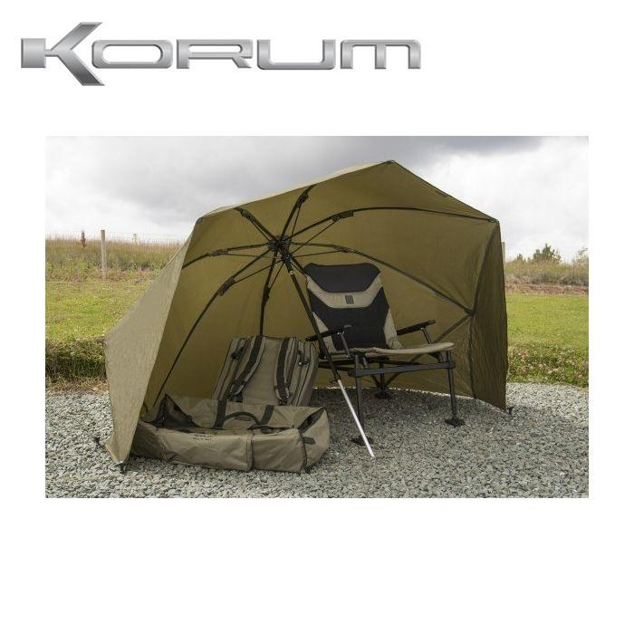 Korum 50 Graphite Brolly Shelter