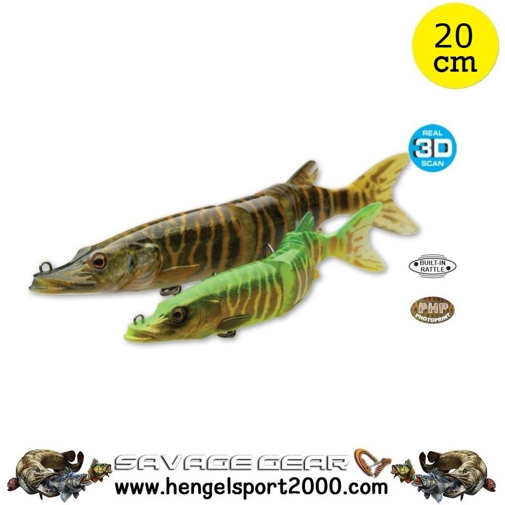 Savage Gear 3D Hard Pike 20 cm