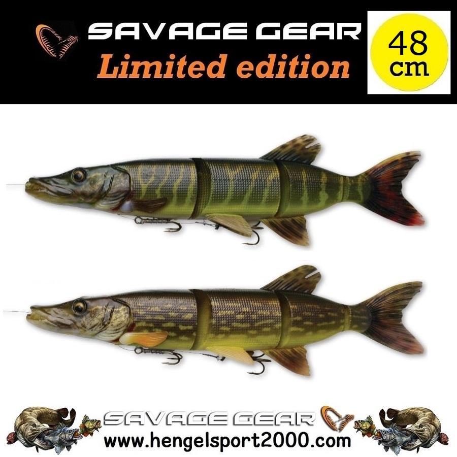 Savage Gear 4D Line Thru Pike 48 cm