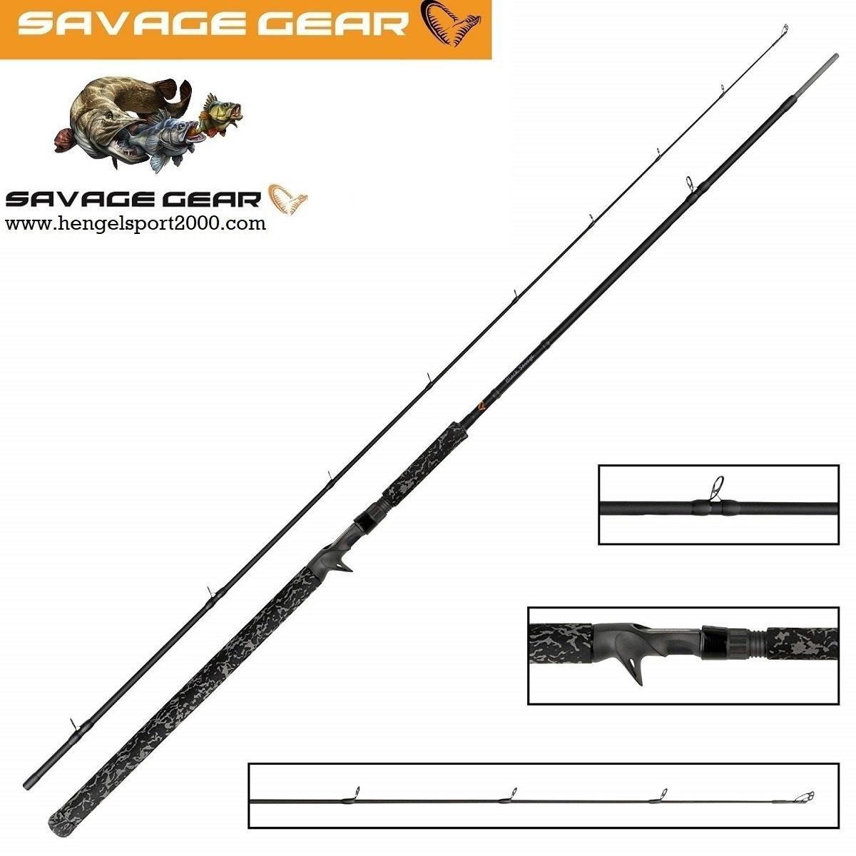 Savage Gear Black Savage Trigger 249 cm 150 gram