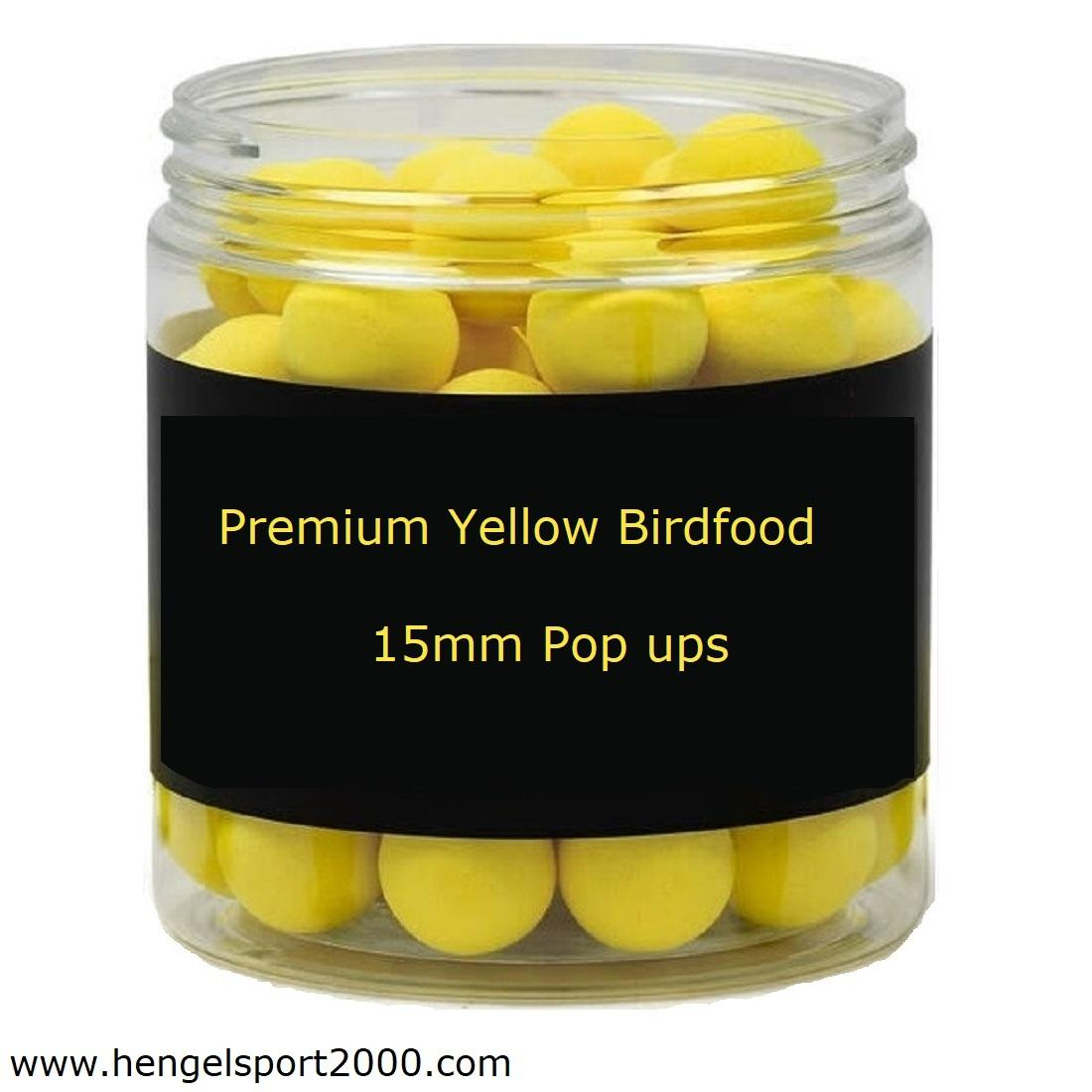 Premium Yellow Birdfood Pop ups