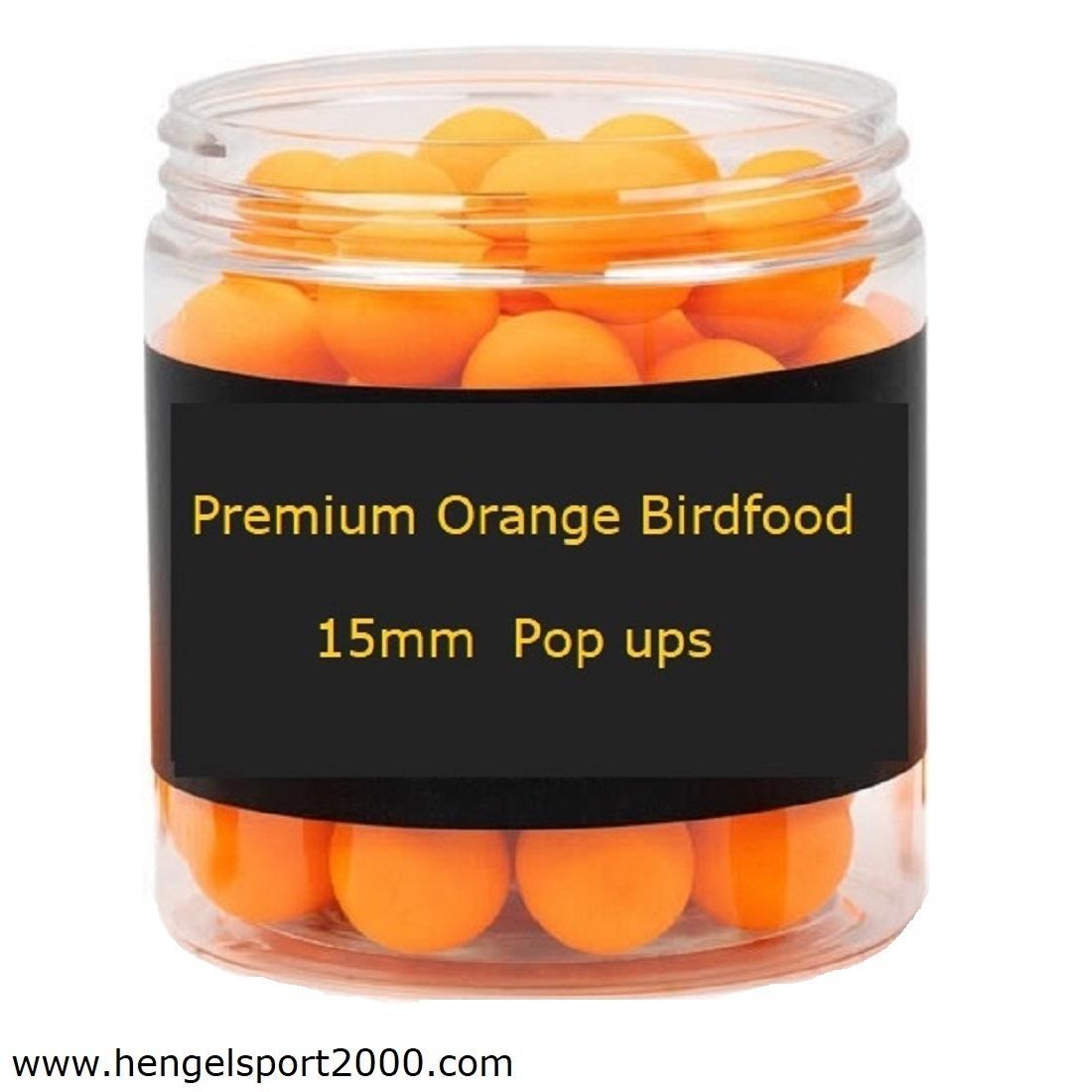 Premium Orange Birdfood Pop ups