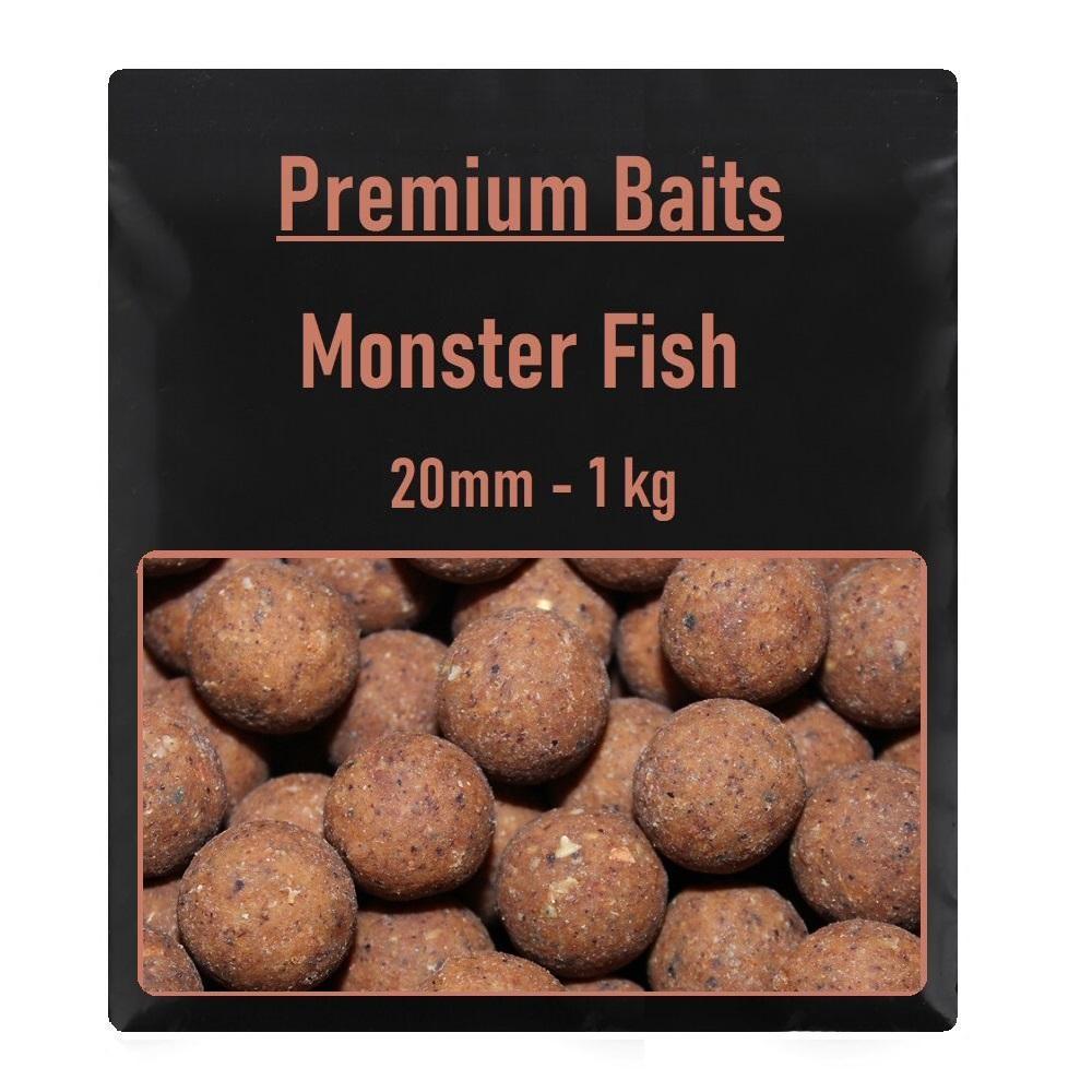 Premium Monster Fish Boilies 20mm 1 kg