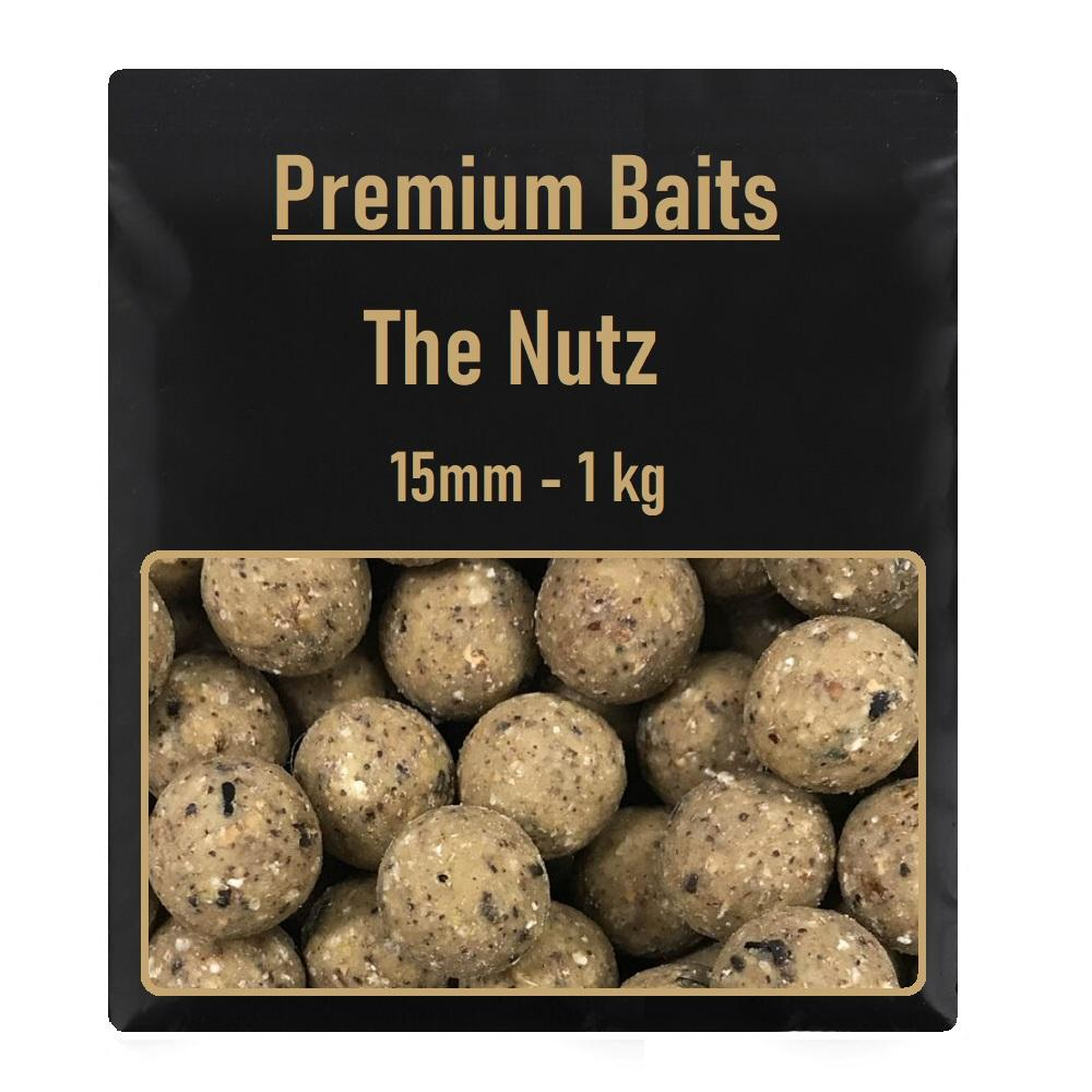 Premium The Nutz Readymade Boilies 15mm 1 kg