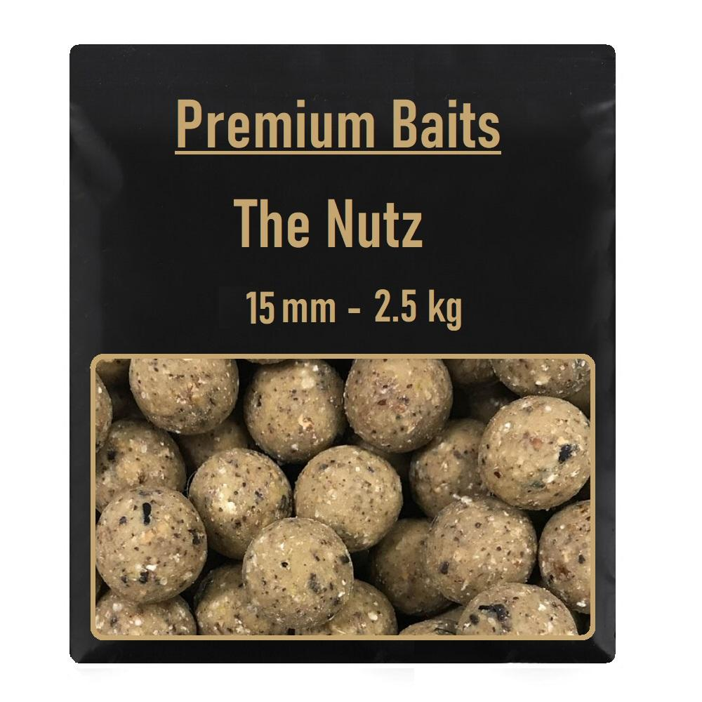 Premium The Nutz Readymade Boilies 15mm 2,5 kg