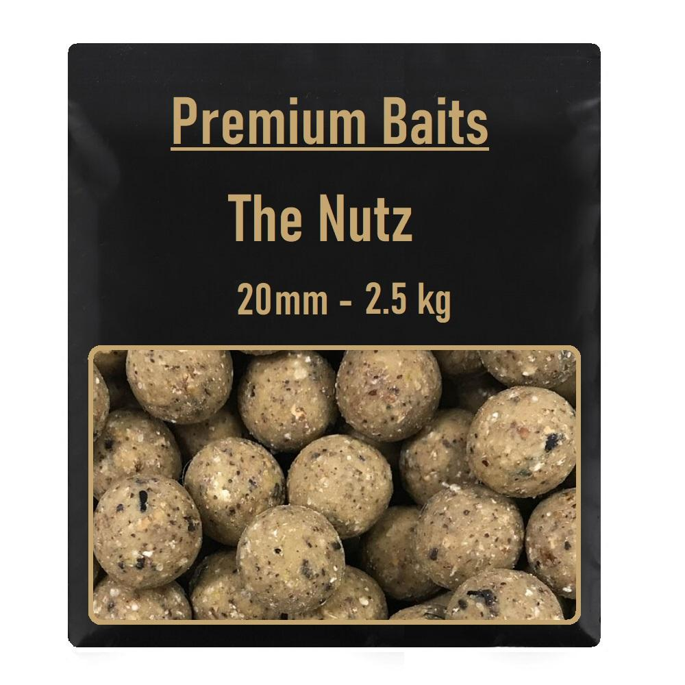 Premium The Nutz Readymade Boilies 20mm 2,5 kg