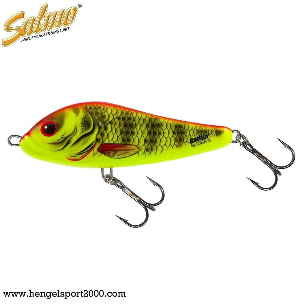 Salmo Rattlin Slider 8 cm | Bright Perch