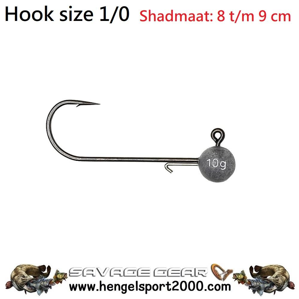 Savage Gear Ball Jig Heads Tournament hook 1-0 (3 stuks)