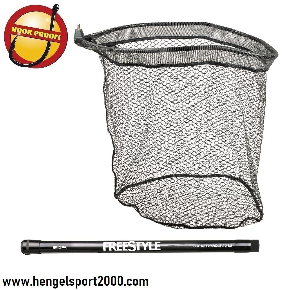 Spro Freestyl Flip Net plus Steel 280cm