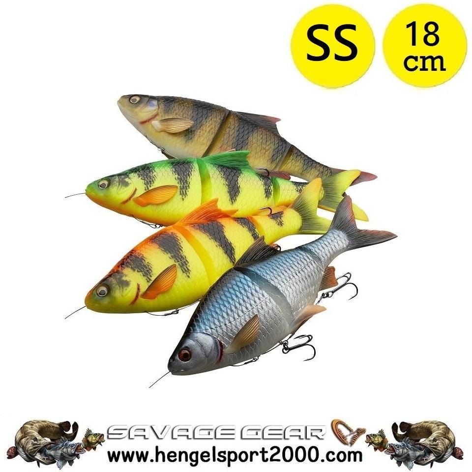 Savage Gear 4D Line Thru Roach 18 cm SS