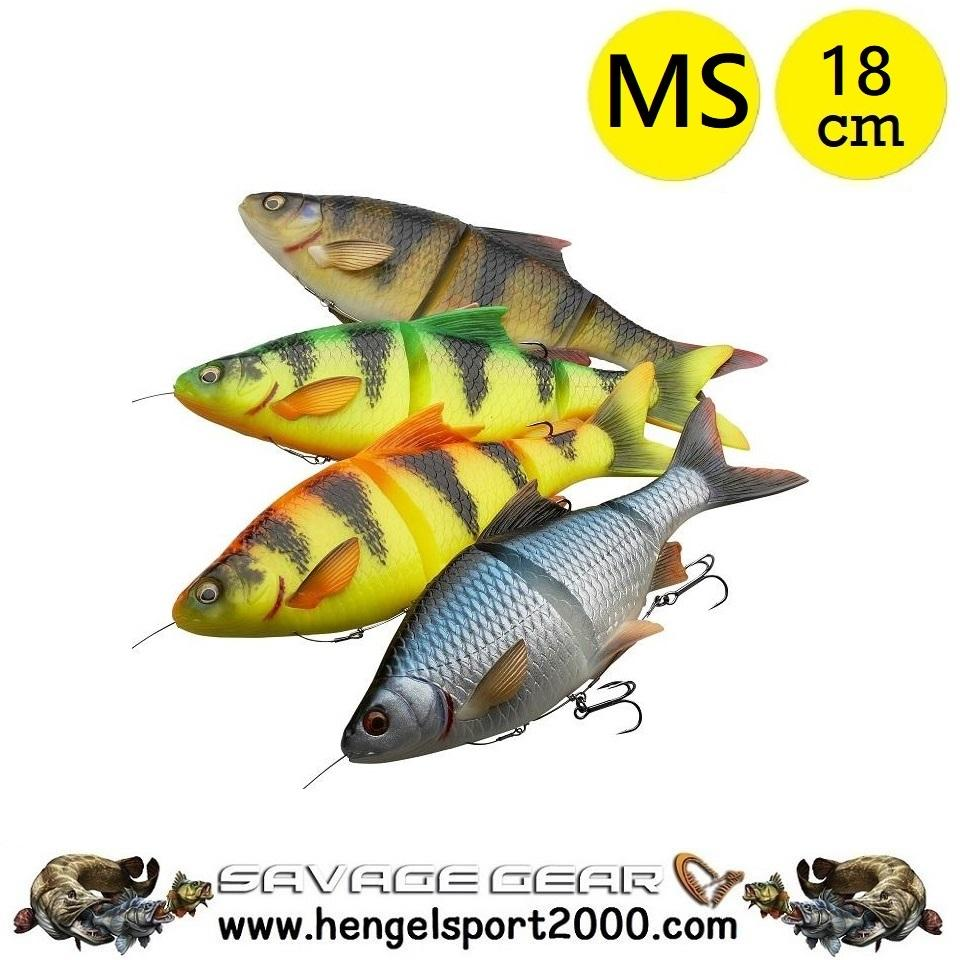 Savage Gear 4D Line Thru Roach 18 cm MS