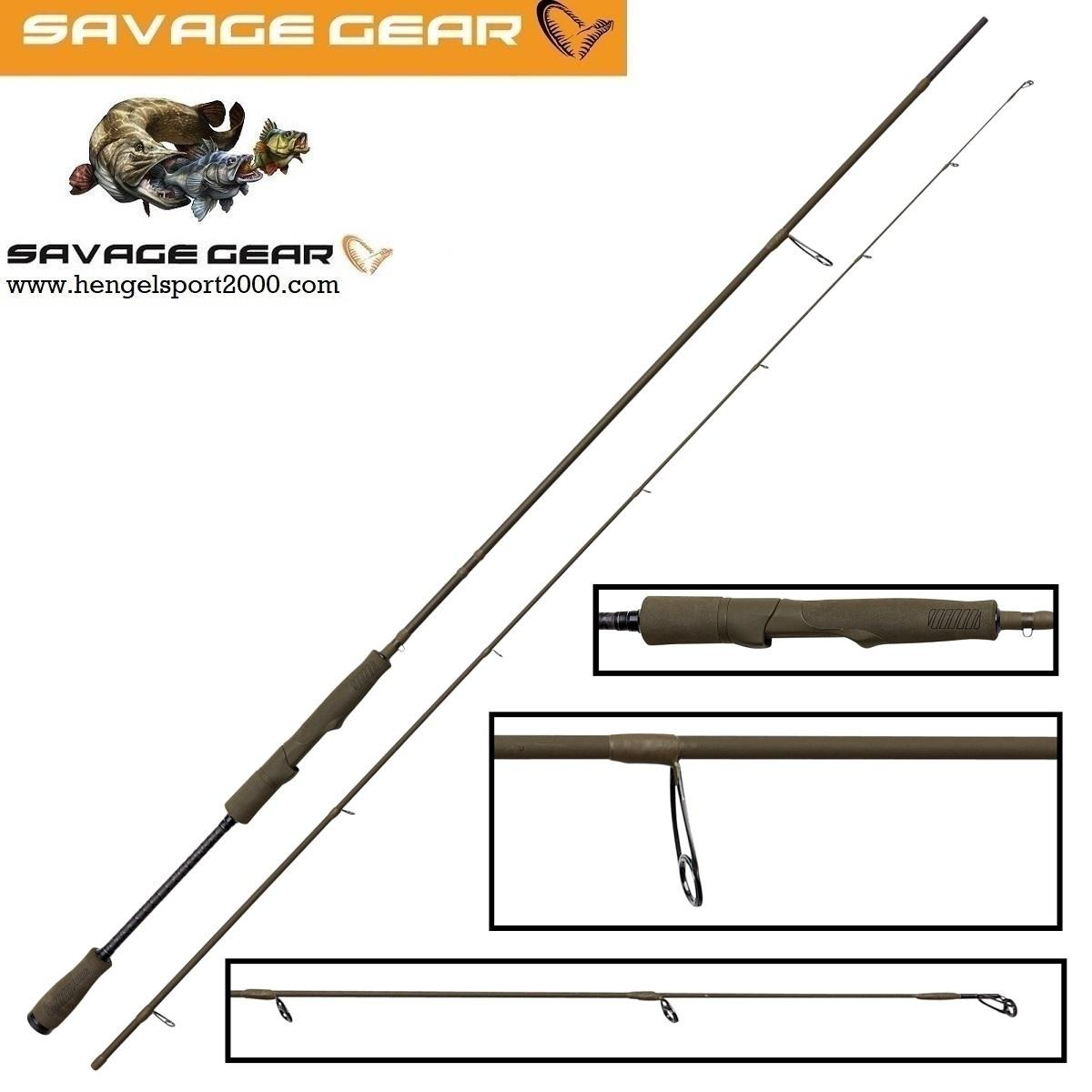Savage Gear SG4 Light Game Rod 221 cm 3 - 10 gram