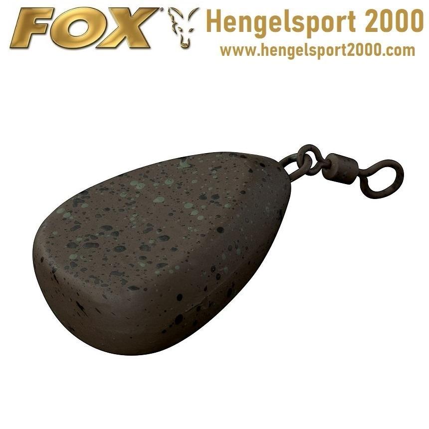 Fox Camotex Flat Pear Lead Swivel