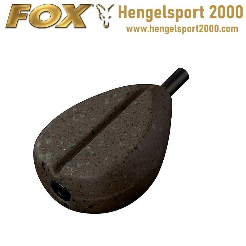 Fox Camotex Flat Pear Lead Inline Grooved