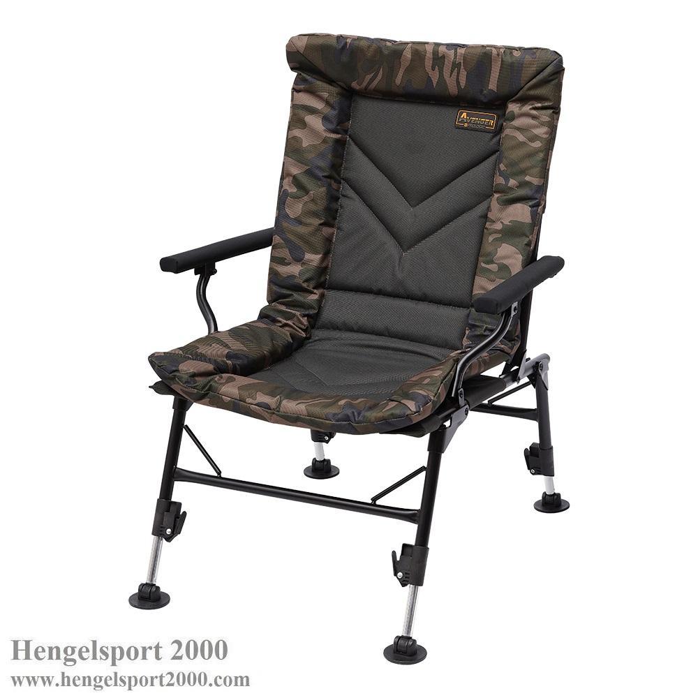 Prologic Avenger Comfort Camo Chair w-armrest & Cover
