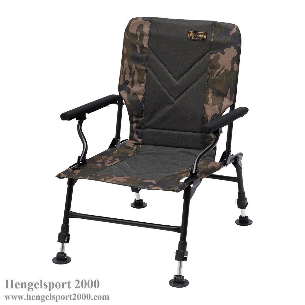 Prologic Avenger Relax Camo Chair w-armrest & Cover