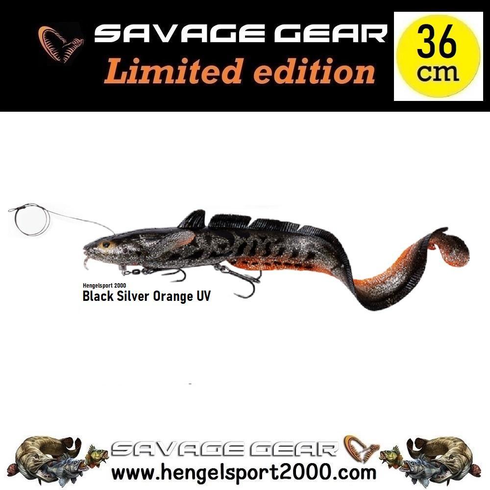 Savage Gear 3D Line Thru Burbot 36cm | Burbot