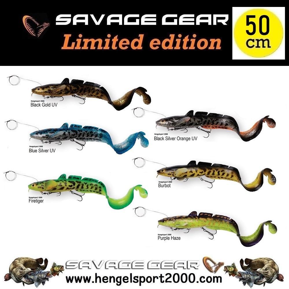 Savage Gear 3D Line Thru Burbot 50cm