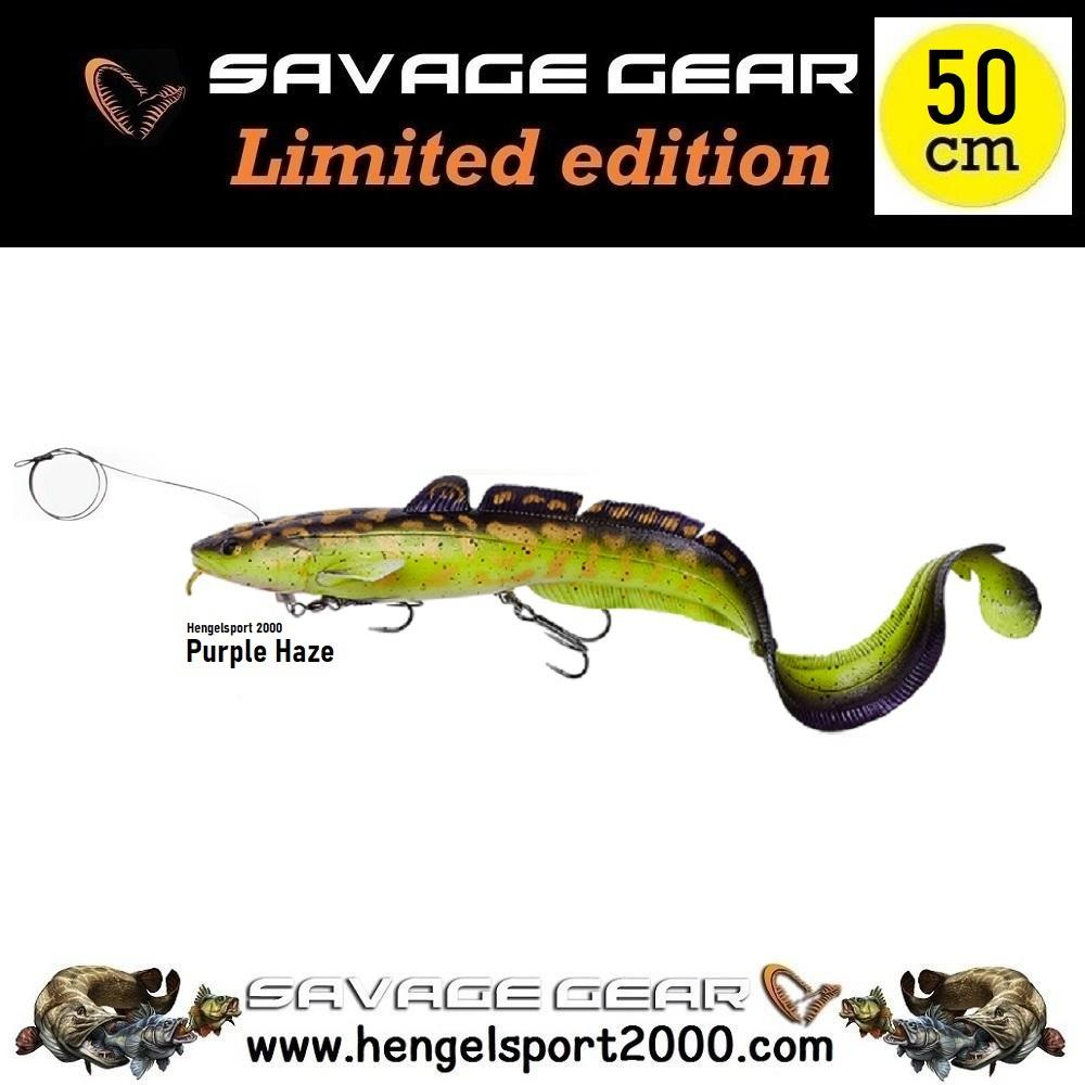 Savage Gear 3D Line Thru Burbot 50cm | Burbot