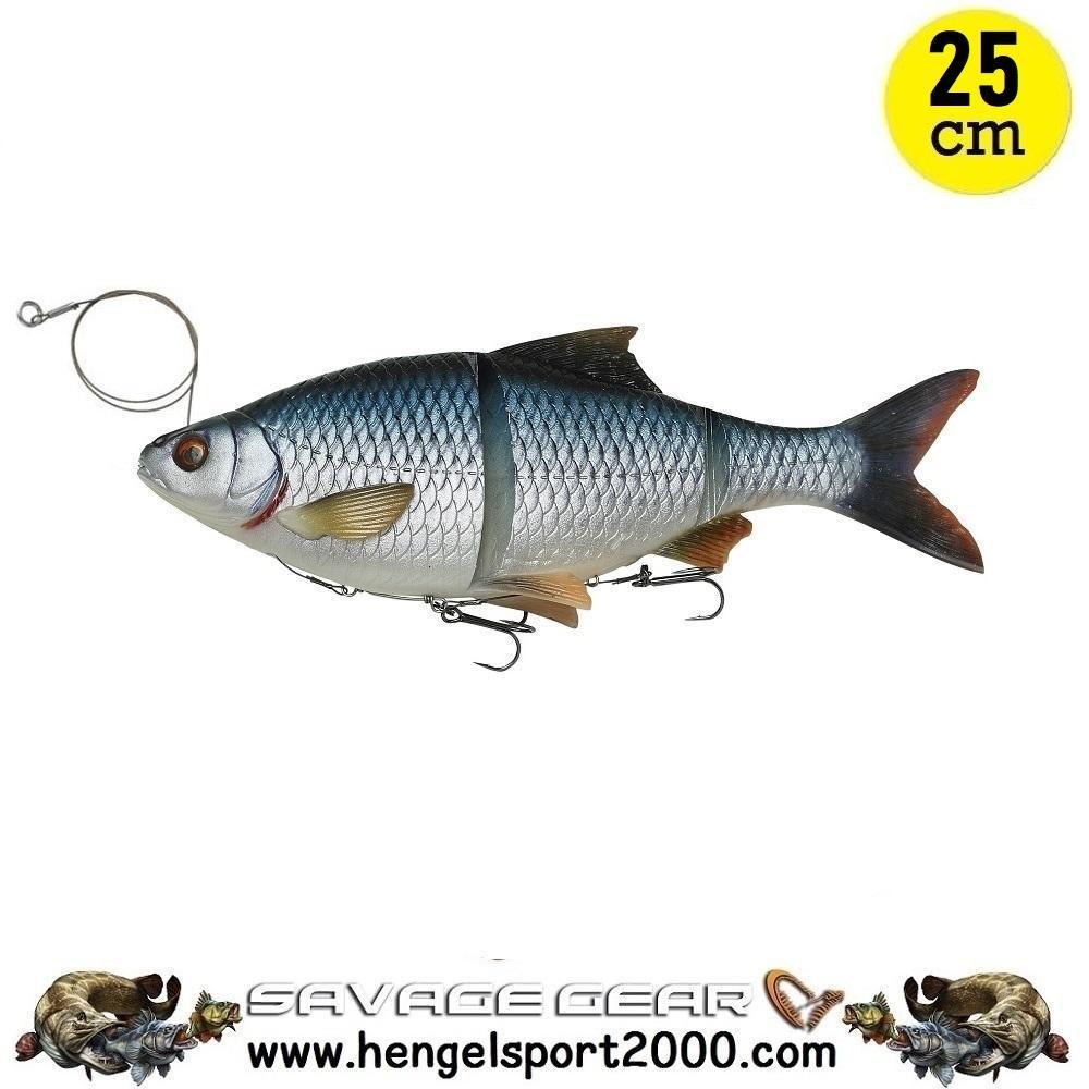 Savage Gear 4D Line Thru Roach 25cm | Roach