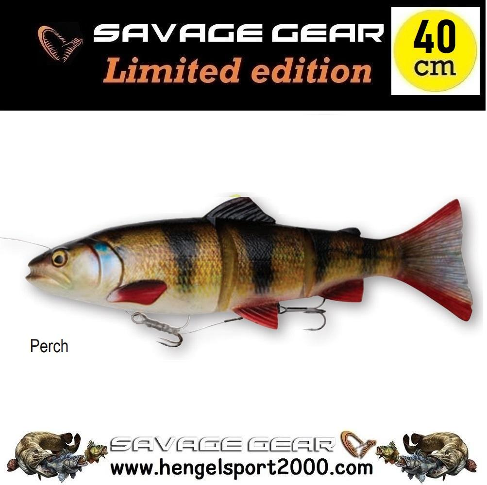 Savage Gear 4D Line Thru Trout 40 cm | Brown Trout UV Belly