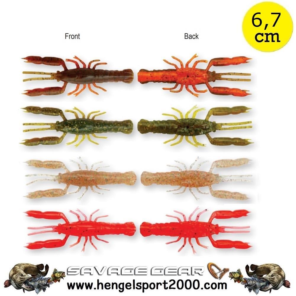 Savage Gear 3D Crayfish Rattling 6,7cm