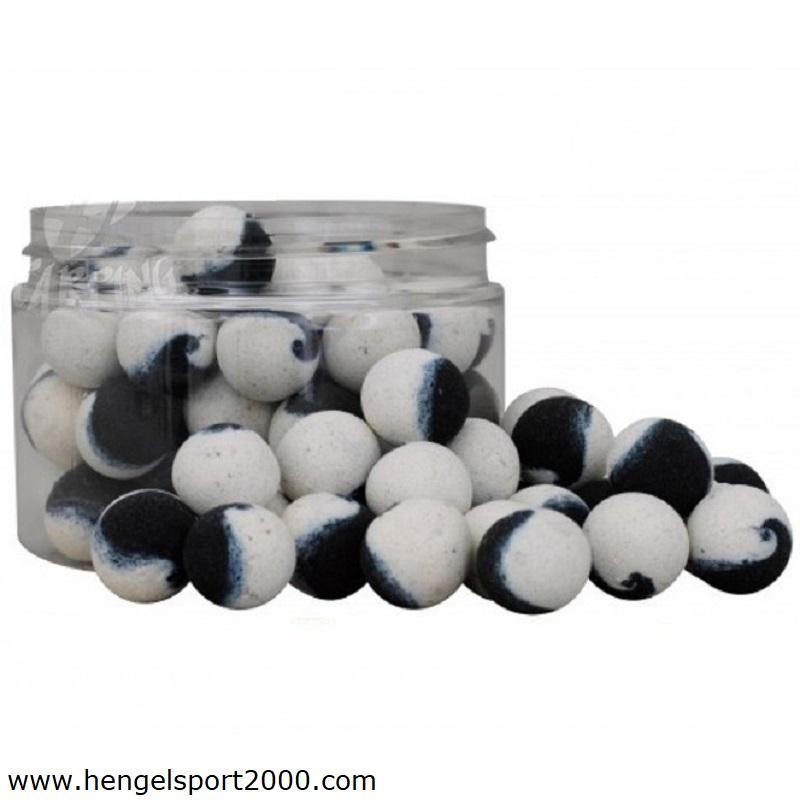 Fluoro Lite 2-Tone Pop Up White-Black 14mm