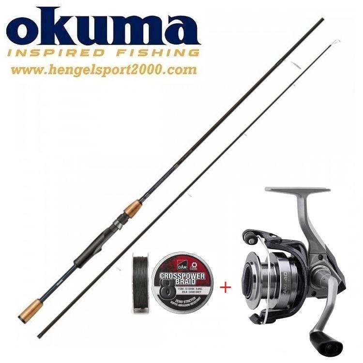 Okuma Azaki Spin 270cm 20 - 60 gram Snoek Set