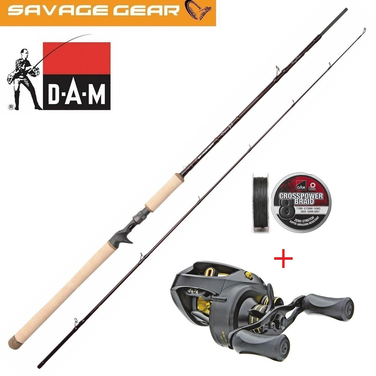 Savage Gear Custom Jerk 203cm 125 gram Roofvis Set