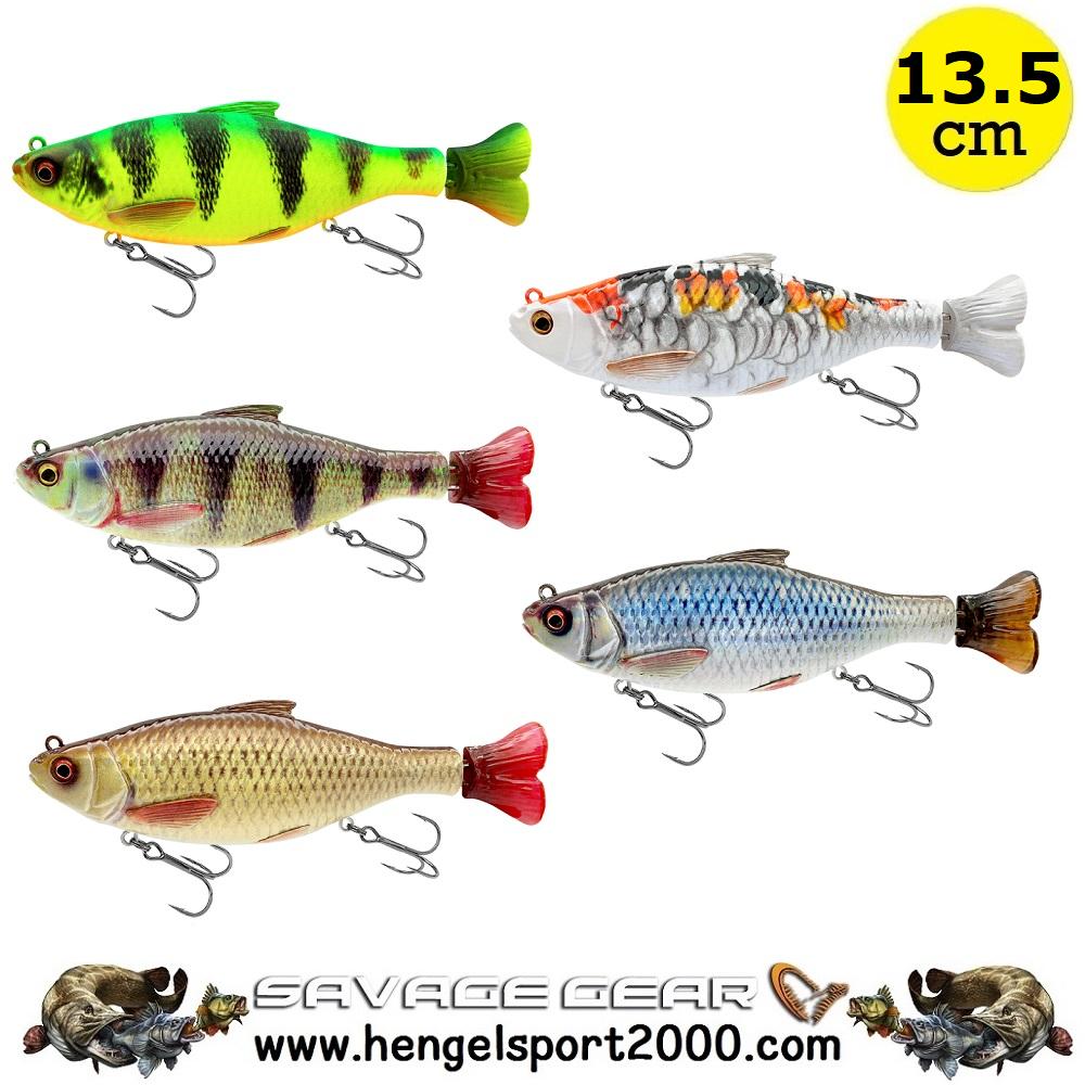 Savage Gear 3D Hard Pulsetail Roach 13,5cm