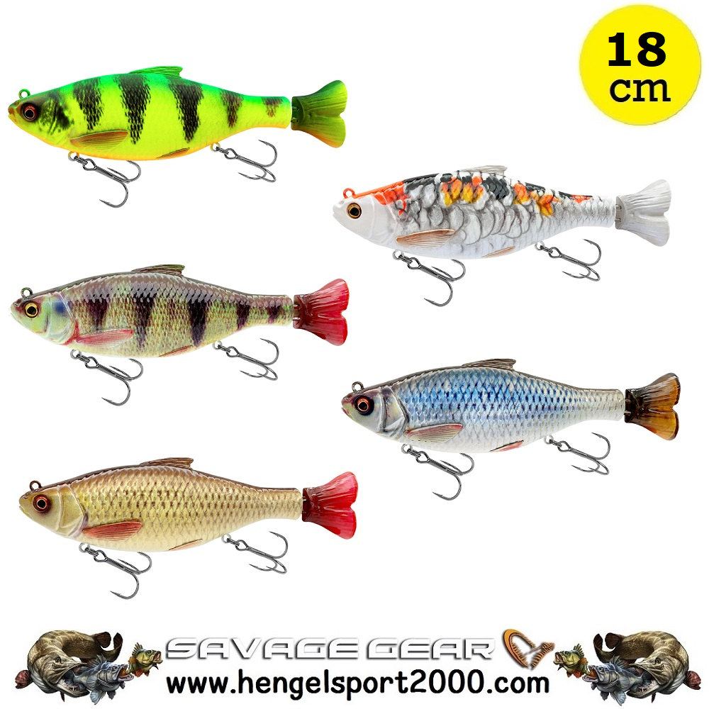 Savage Gear 3D Hard Pulsetail Roach 18cm