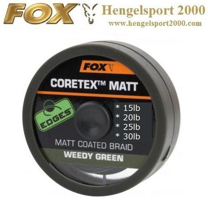 Fox Coretex Matt Weedy Green