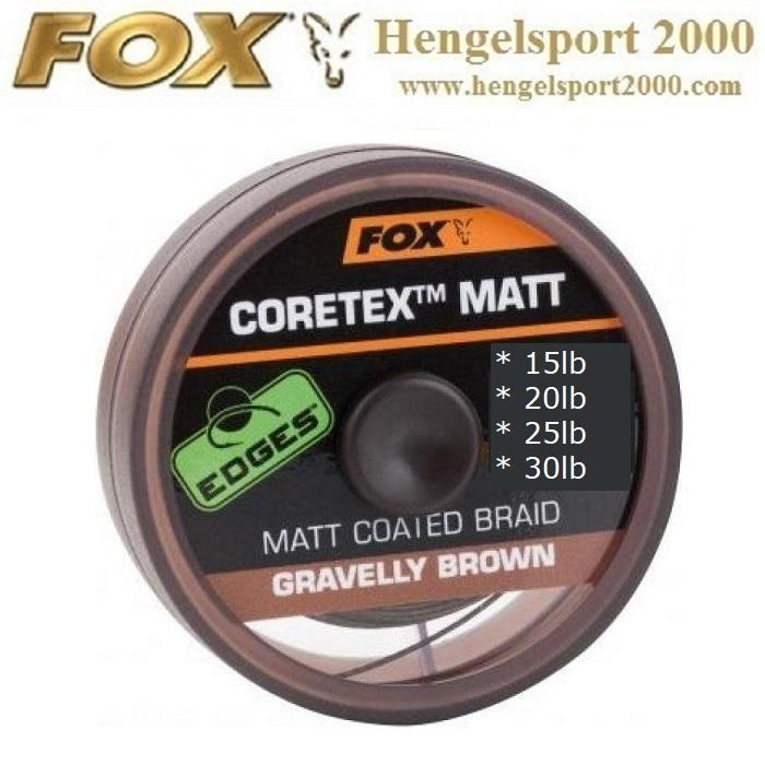 Fox Coretex Matt Gravel Brown