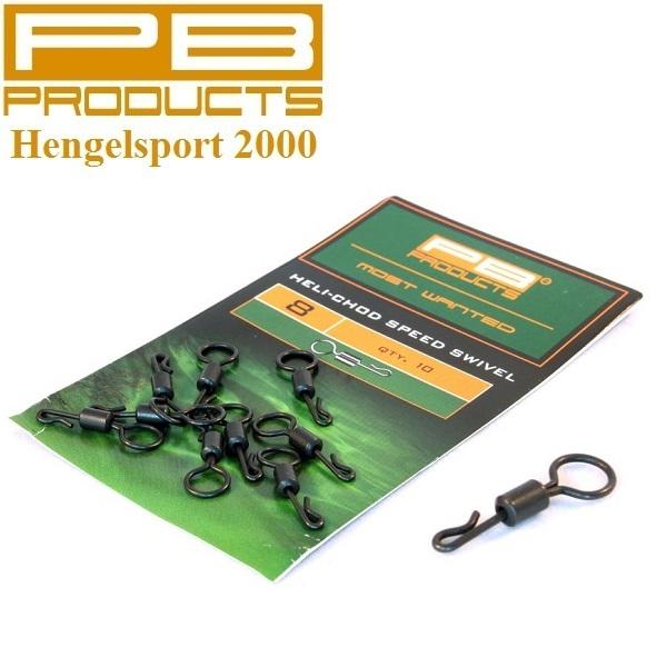 PB Products Heli-Chod Speed Swivel 8