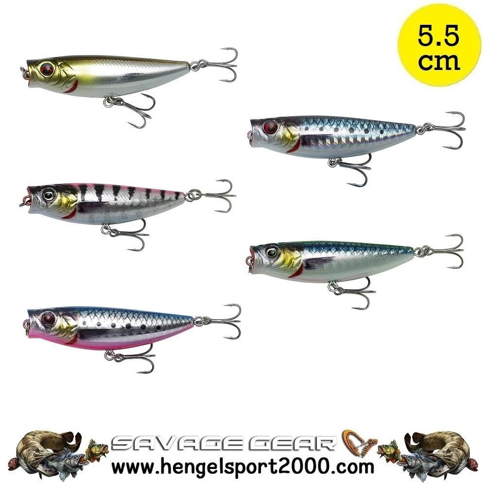 Savage Gear 3D Minnow Pop Walker 5.5 cm
