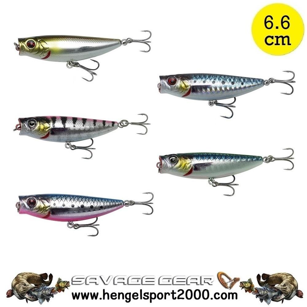 Savage Gear 3D Minnow Pop Walker 6.6 cm