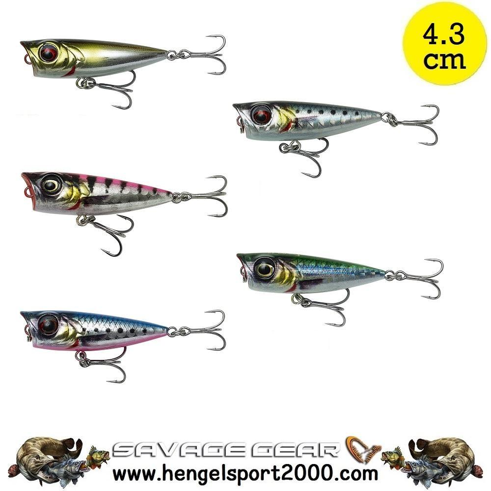 Savage Gear 3D Minnow Popper 4.3 cm