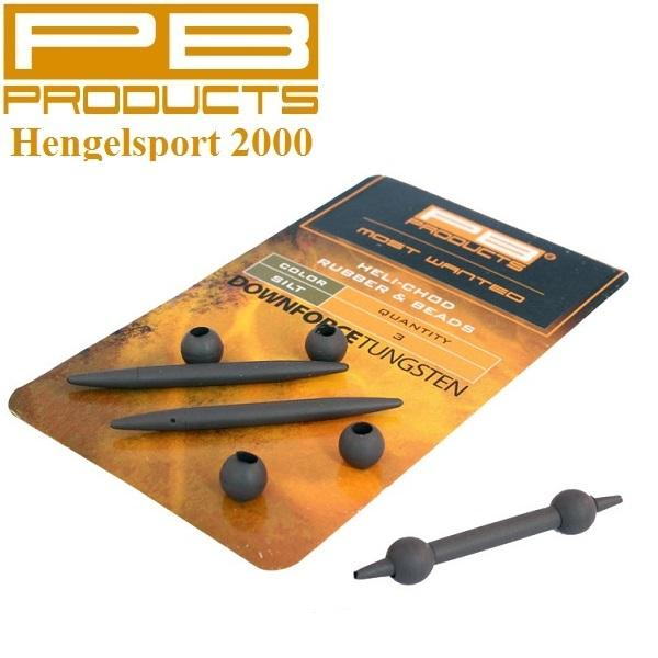 PB Products Downforce Heli-Chod Rubber Beads X Small