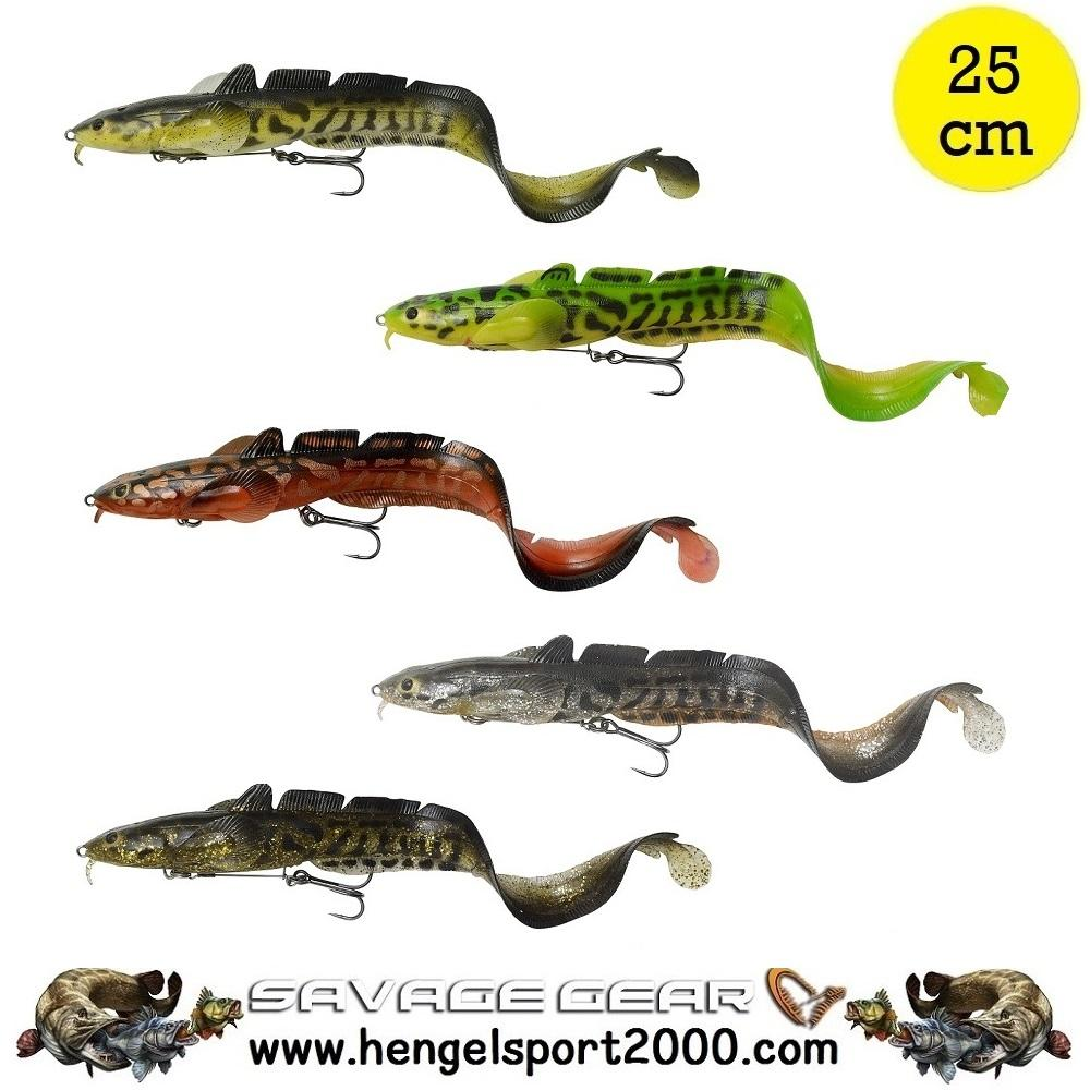 Savage Gear 3D Burbot Shallow 25 cm
