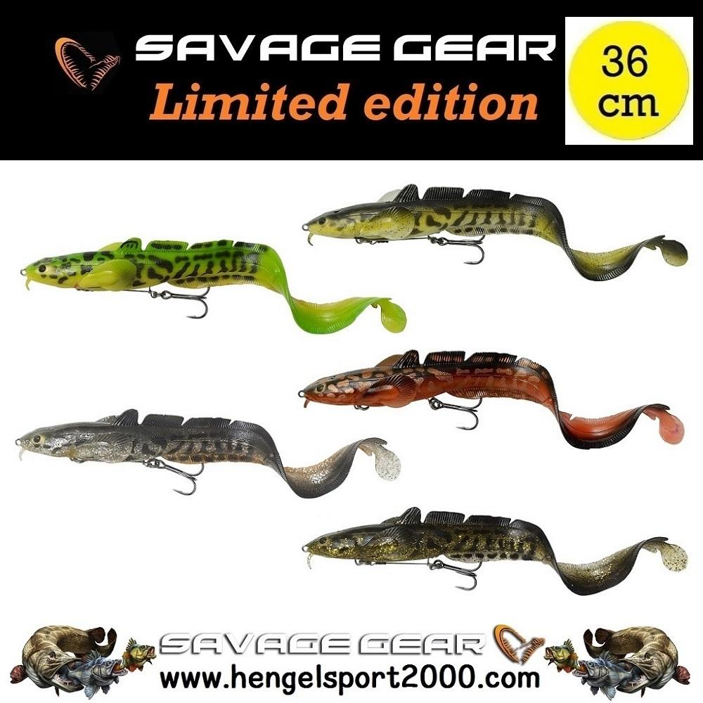 Savage Gear 3D Burbot Shallow 36 cm