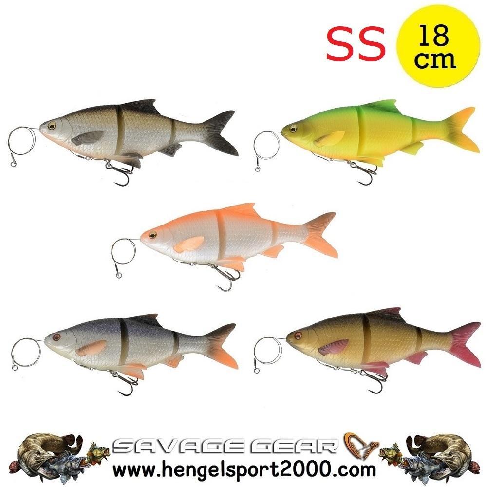 Savage Gear 3D Line Thru Roach 18 cm SS