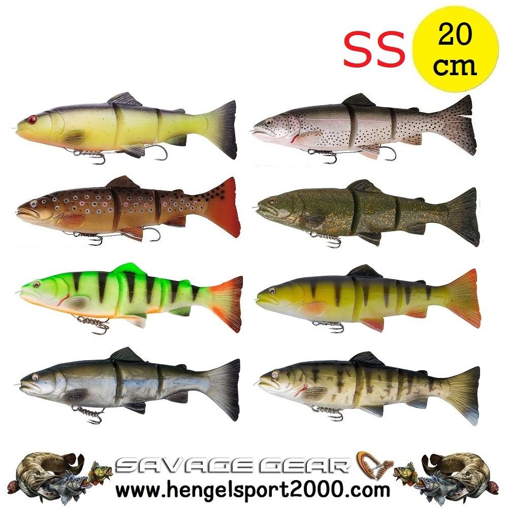Savage Gear 3D Line Thru Trout 20 cm SS