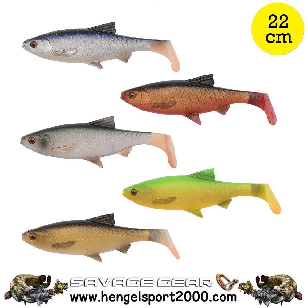 Savage Gear 3D LB River Roach Shad 22 cm (2 stuks)