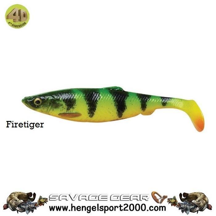 Savage Gear 4D Herring Shad 9 cm   Firetiger