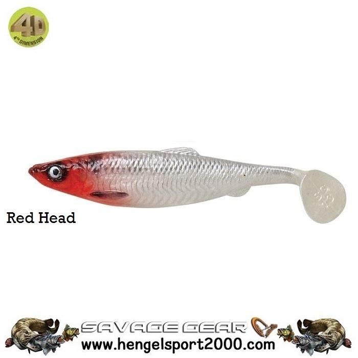 Savage Gear 4D Herring Shad 11 cm | Firetiger