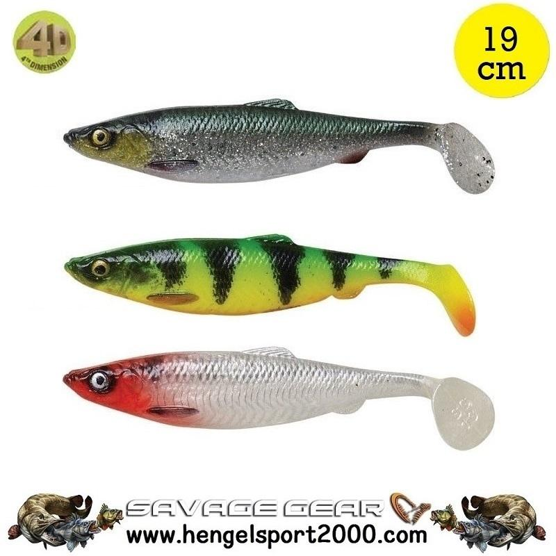 Savage Gear 4D Herring Shad 19 cm