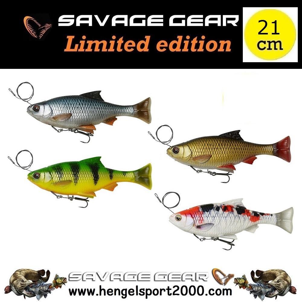 Savage Gear 4D Line Thru Pulse Tail Roach 21 cm